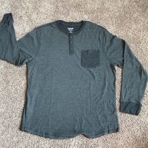 Mossimo Supply Co Shirts Mossimo Mens Long Sleeve Henley Poshmark